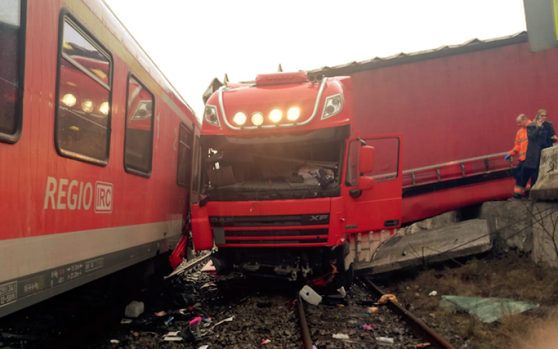 accident tren bologa