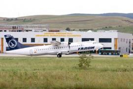 avion tarom aeroport cluj